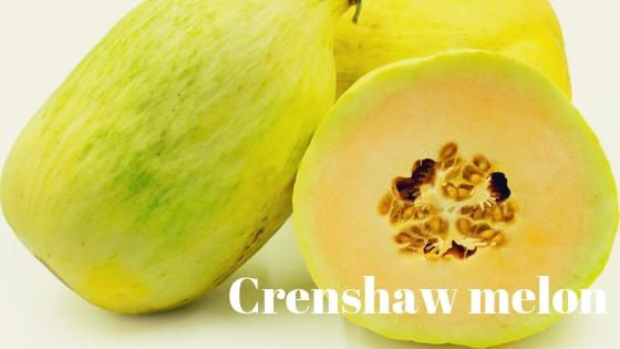 Crenshaw melon varieties