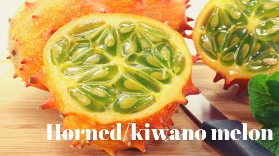 Horned/kiwano melon varieties