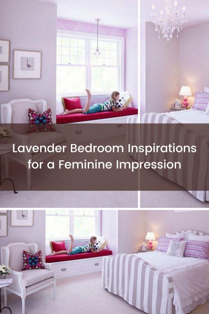 Lavender bedroom for girls