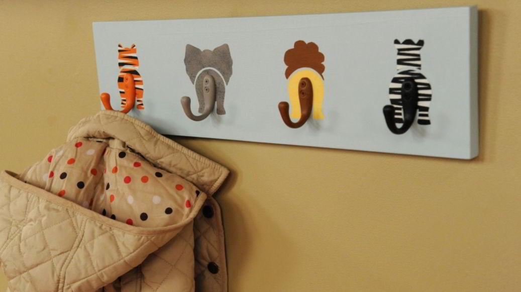 Cute Animal Tails Hat Rack