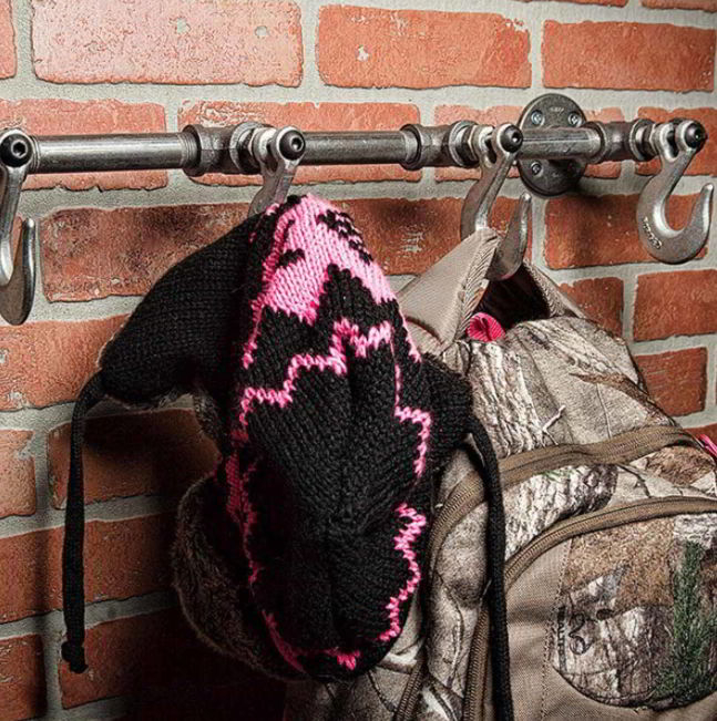 Best Industrial Styled Hat Holder